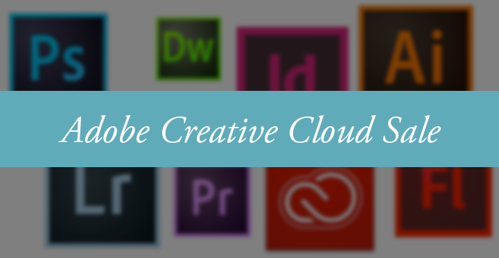 Adobe Creative Cloud Sale