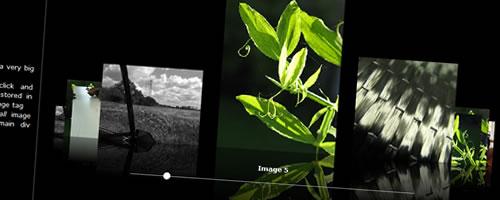 非常に美しいスライドギャラリー『ImageFlow』
